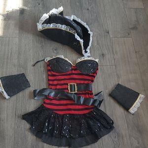 Burlesque Buccaneer Costume